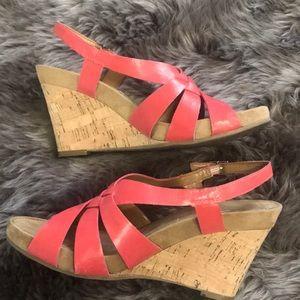 Aerosoles wedge shoe.  Size 8 1/2. Gently used $15